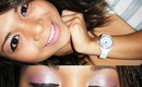 Shimmery Pink & Nude Lips Makeup Tutorial