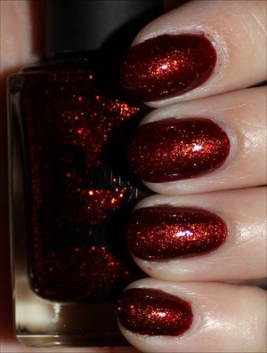 From the Christmas Without Snow Collection. See more swatches & my review here: http://www.swatchandlearn.com/pretty-serious-seasonal-sunset-swatches-review/