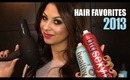 Favorite Hair Products of 2013