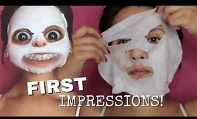 FIRST IMPRESSIONS: Double Dare 2 in 1 Detox Bubbling Microfiber Mask Kit