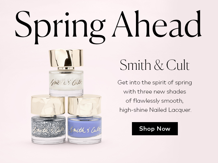Spring ahead with new Smith & Cult Nailed Lacquer