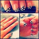 polka dot nails ❤
