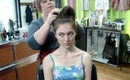 1033 Main Salon & Spa: Quick, Easy Topknot Bun Updo or Chignon