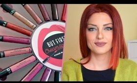Sephora Rouge velouté sans transfert (Cream Lip Stain) Lip Swatches | Ioanna Lampropoulou