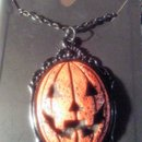 New Jackolantern necklace and earrings