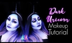 Dark Unicorn Halloween Makeup Tutorial