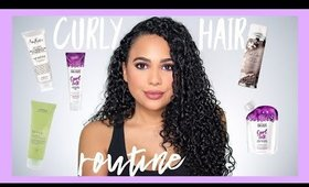 MY UPDATED CURLY HAIR ROUTINE| ASHLEY BOND
