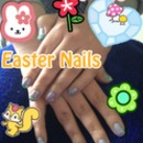 Easter Nails 2012