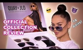 QUAY X JLO SUNGLASSES FULL COLLECTION REVIEW | Maryam Maquillage