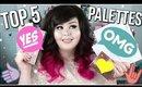Top 5 Favorite Eyeshadow Palettes | Affordable Favorites