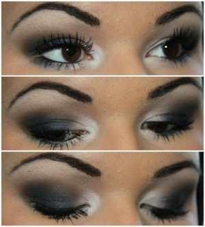 Check out my blog for the tutorial and more details! makeupbykailanmarie.blogspot.com