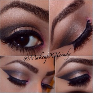 Find me on Instagram ! @makeupxxcindy   All eyeshadows are from the urban Decay Naked Palette with a touch of pink from Bh Cosmetics 4th edition Palette ! Great look for Valentines Day !