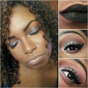 Find this eye look on YouTube @glamorousleigheje