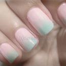 Mint + Pink Gradient