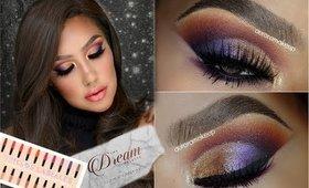 Maquillaje Festivo  PROBANDO  productos NUEVOS /HOLIDAy makeup tutorial   auroramakeup