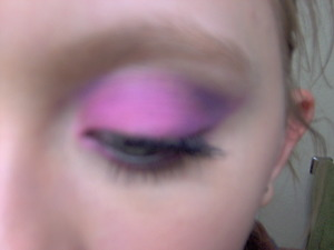I did this yesterday and in person of course it was much brighter, but it is super fun and cute too!