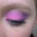 Bright Pink and Purple