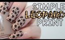 Simple Leopard Print Nails | OPI Infinite Shine