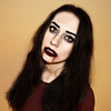 Halloween makeup look