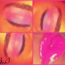 Prom Pink&Purple Makeup