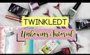 TwinkledT Nail Art | Unboxing & Marble Nails Tutorial ♡