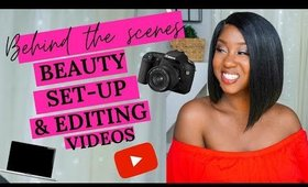 HOW TO FILM A YOUTUBE VIDEO BEHIND THE SCENES