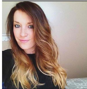 This is my latest ombré on my client and friend Kristin