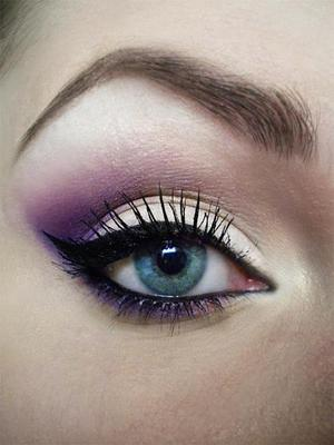 http://missbeautyaddict.blogspot.com/2012/04/lilac-make-up.html