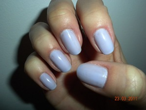 Style one: Original pale lavender polish