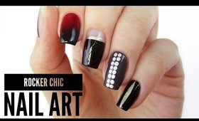 5 Rocker Chic Nail Art Designs / Toronto Fashion Week!
