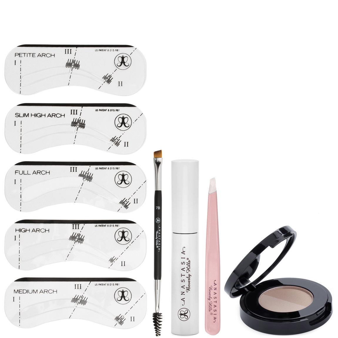 Anastasia Beverly Hills Brow Kit Taupe alternative view 1.