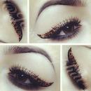 Leopard Eyeliner