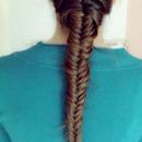 my lovely hair style