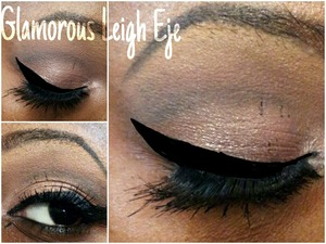 Check out tutorial on my YouTube Channel for this look.. @ Glamorous Leigh Eje (link on my Beautylish page)