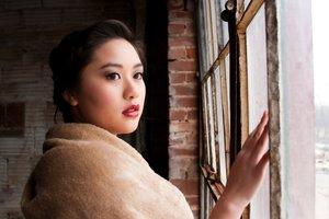 Vintage/Retro Sweet Sixteen Photo shoot  Makeup/Hair- Anh K. Pham Model- Tiffany V. Nguyen Photographer- Loan K. Vu