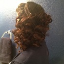 Side Curls Hairstyle