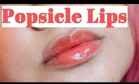 Quick Tutorial: Popsicle Lips (Perfect for Spring&Summer!) | Victoria Briana