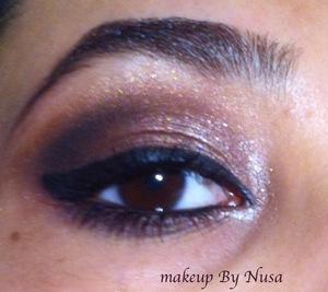 Brown smokey eye <3