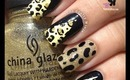 Cheetah Nail Foil Wraps by The Crafty Ninja