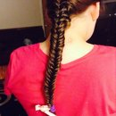 Fishtailed My little cousins Hair! :)