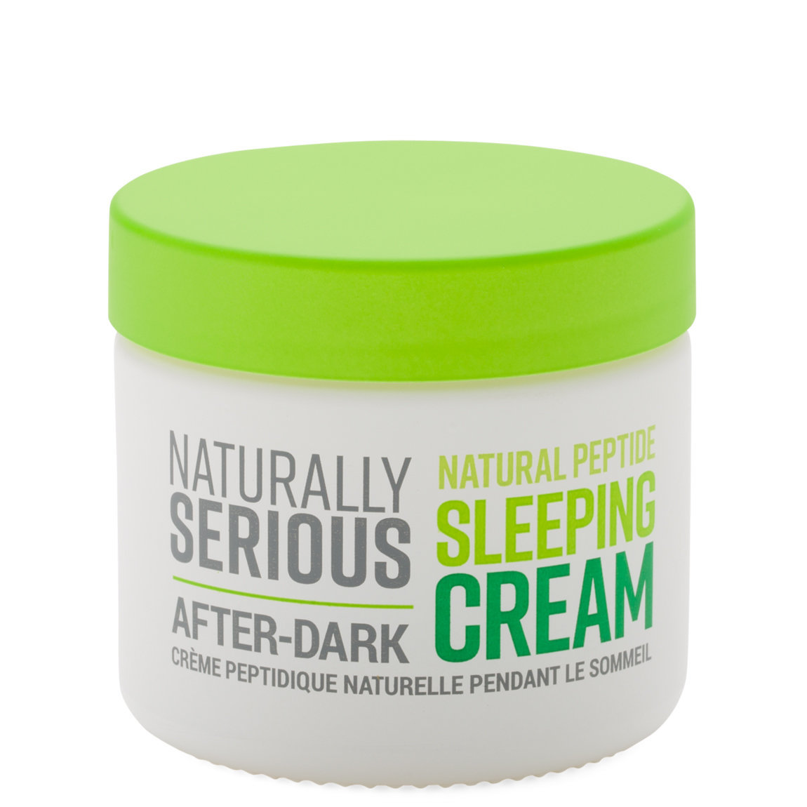 Naturally Serious After-Dark Natural Peptide Sleeping Cream alternative view 1 - product swatch.