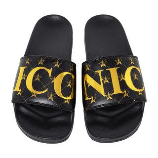 Jeffree Star Cosmetics Black Iconic Slides