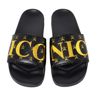 Black Iconic Slides Men's 11 / Women's 13