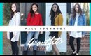 Fall/Autumn Lookbook⎮Fashion & Styling