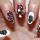 Abstract Christmas Nails