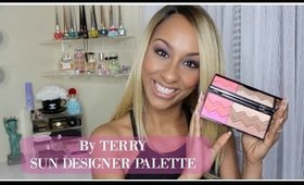 By TERRY Sun Designer Palette + My By TERRY Blushes | First Impression + Demo
