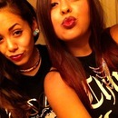 sissy and I in Vegas (: