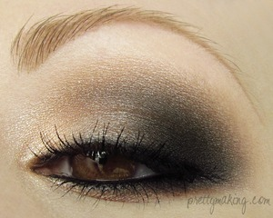 EOTD from May 23rd 2012 using Makeup Geek shadows - http://prettymaking.blogspot.com/2012/05/eotd-neutral-smokey-eye.html