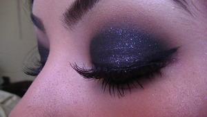 Smokey Glitter Eyes