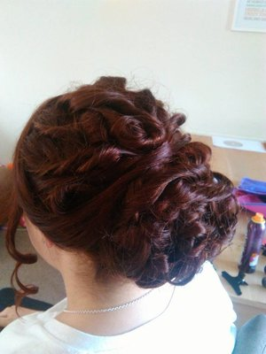 my prom hair 2015 side view